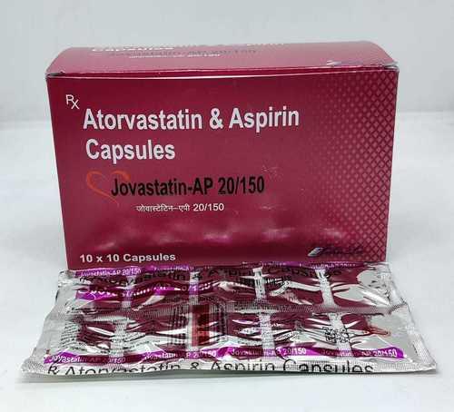 Atorvastatin IP 20 Mg & Aspirin 150 mg
