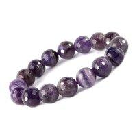Prayosha Crystals Amethyst Gemstone Bracelet