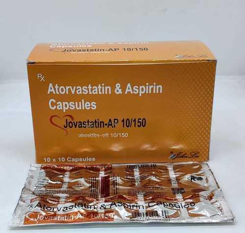 Atorvastatin IP 10 Mg & Aspirin 150 mg