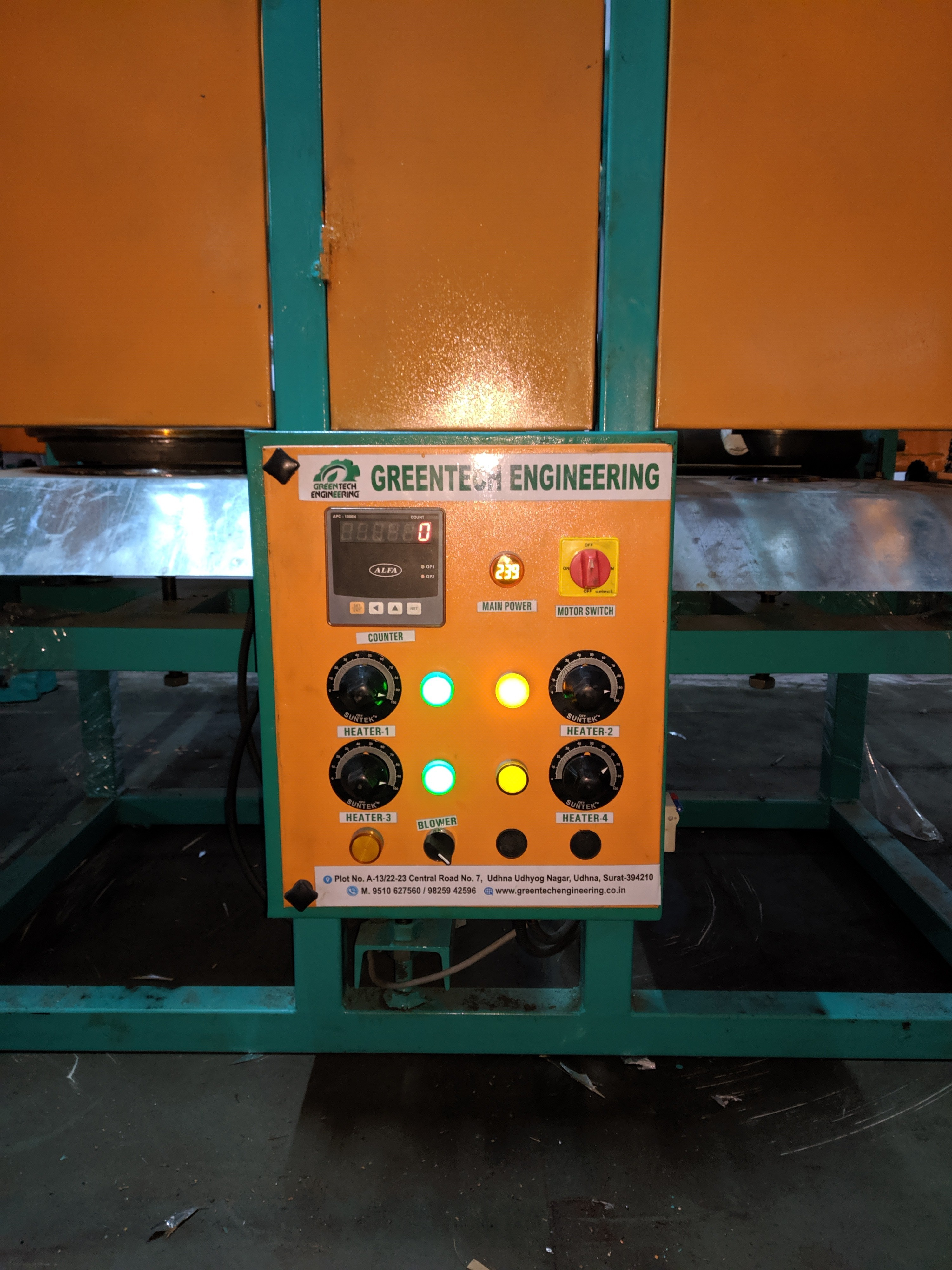 Fully Automatic Double Die Making Machine
