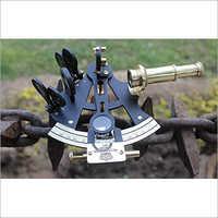 Brass Nautical Sextant Decor , Nautical Navigational Brass Sextant ~Collectible Maritime Gift