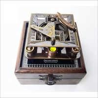 Nautical sundial compass With Box