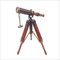 Brass Telescope With Tripod Stand