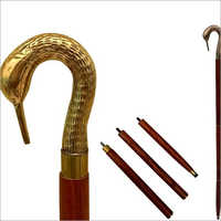 Walking Stick Collectible Wooden Walk Cane Marine Prop Wooden Stick Woman GIFT Home Decor