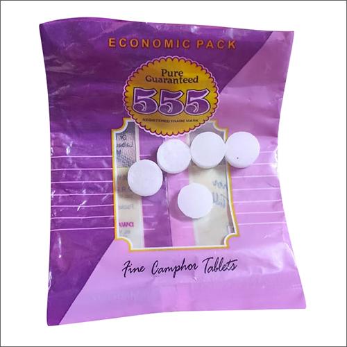 White Fine Camphor Tablet