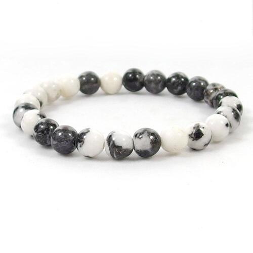 White And Black Zebra Bracelet