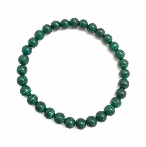 Prayosha Crystals Malachite Bracelet