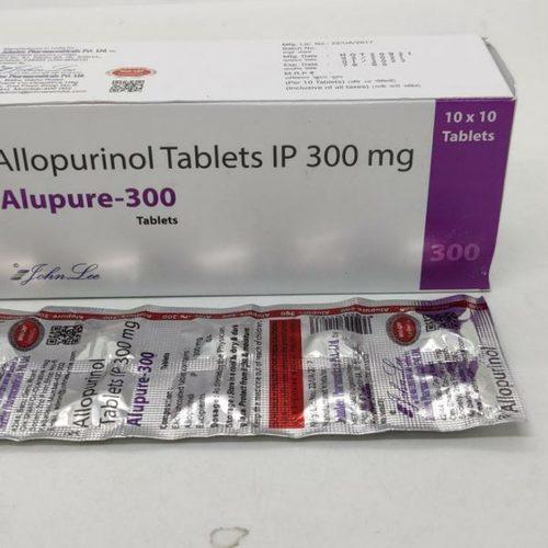Allopurinol Tablets IP 300mg