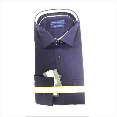 Mens Formal Satin Lycra Shirt