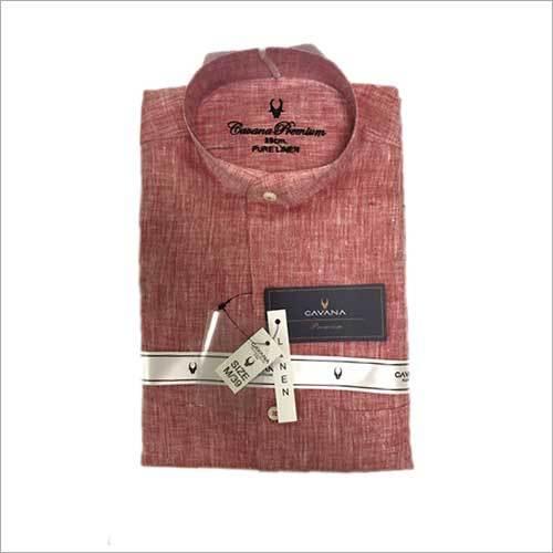 Office Cotton Plain Shirt