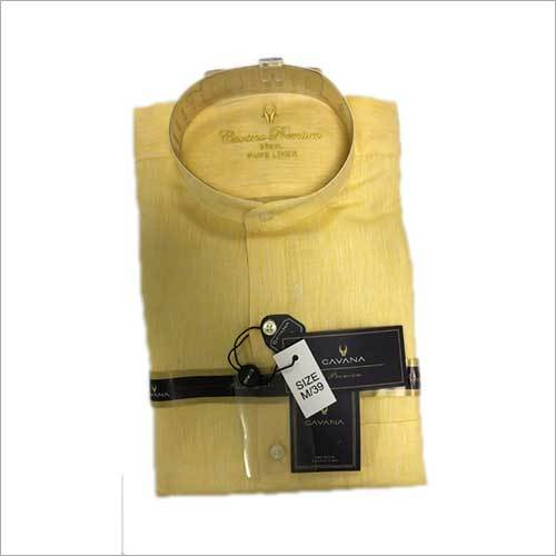 Mens Regular Fit Plain Shirt