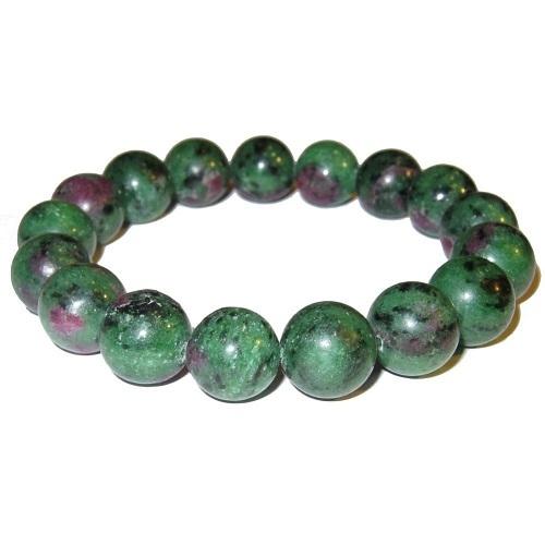 Prayosha Crystals  Ruby Zoisite Bracelet