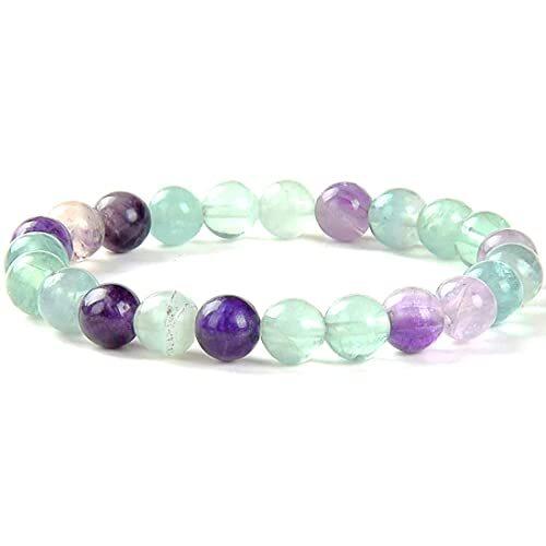 Prayosha Crystals  Multi Fluorite Bracelet