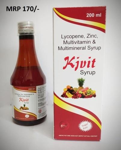 Lycopene Zinc Multivitamin & Multimineral Syrup