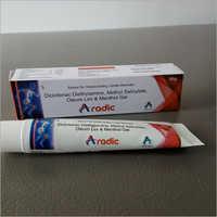 Diclofenac Diethylamine Methyl Slicylate Oleum Lini & Menthol Gel