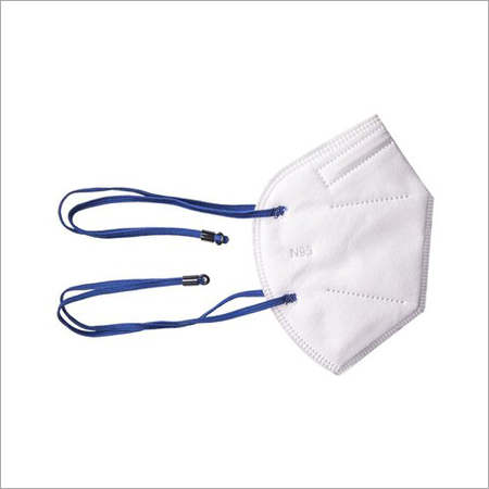 N95 Face Mask with Hot Air Cotton and adjustable Head Loop - 6 Layer