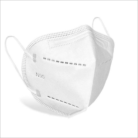N95 Face Mask with Hot Air Cotton - 5 Layer