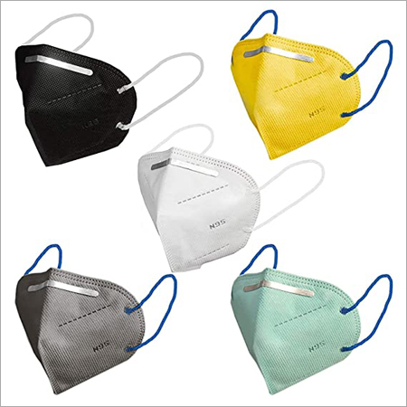N95 Face Mask with Outer Nose Pin - 5 Layer