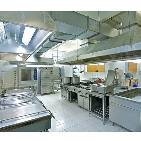 Stainless Steel Kitchen Exhaust Systems
