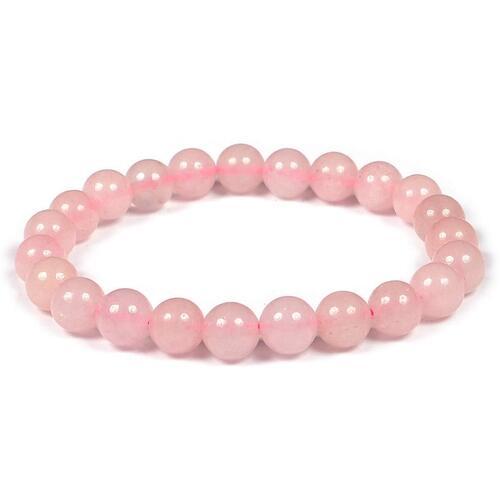 Prayosha Crystals Rose Quartz Bracelet