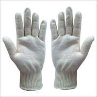 Cotton Seamless Knitted Gloves