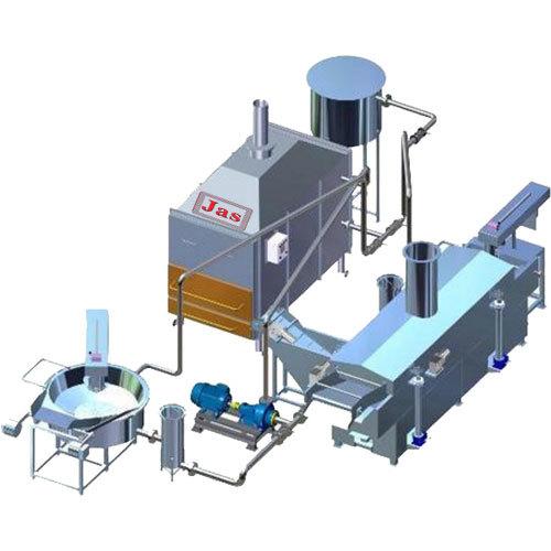 Farsan Frying Equipment