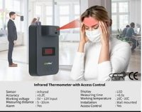 Infrared Thermometer With Access Control