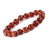 Prayosha Crystals Red Onyx Bracelet