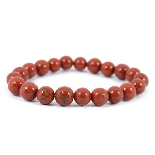 Prayosha Crystals Red Jasper Bracelet