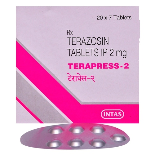 TERAPRESS 2 MG TABLET (TERAZOSIN)