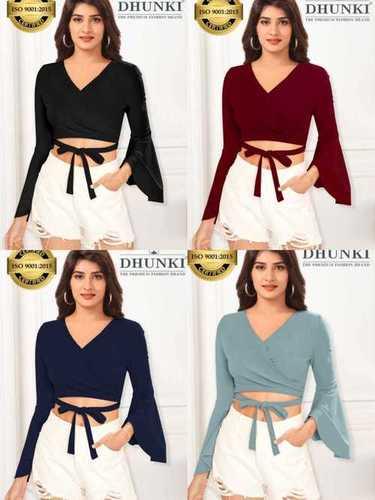 Dhunki Designer Crop tops