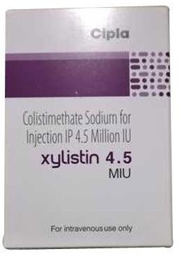 Colistimethate Sodium 4.5 Miu Injection