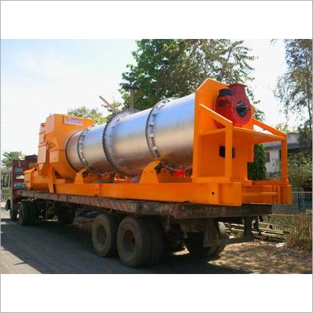 Industrial Asphalt Mobile Drum Mix Plant