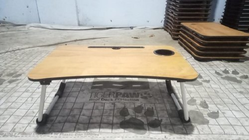 Brown Foldable Laptop Table