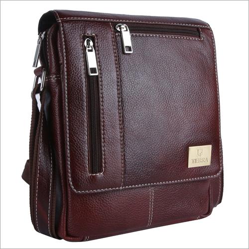 Unisex Leather Side Bag