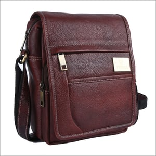 Mens Leather Side Bag