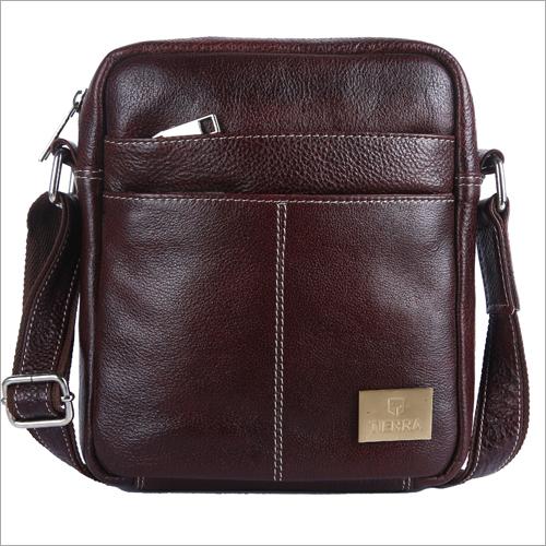 Office Leather Side Bag
