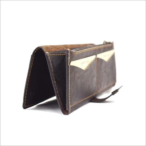Hunter Leather Clutch