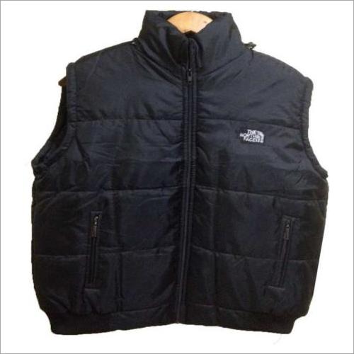 Sleeveless Solid Men Sports Jacket