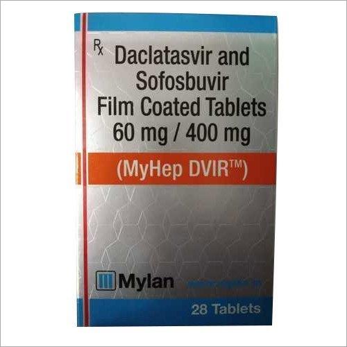 400 mg Daclatasvir and Sofobuvir Film Coated Tablets