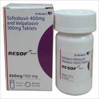 Sofobuvir 400 mg And Velpatasir 100 mg Tablets