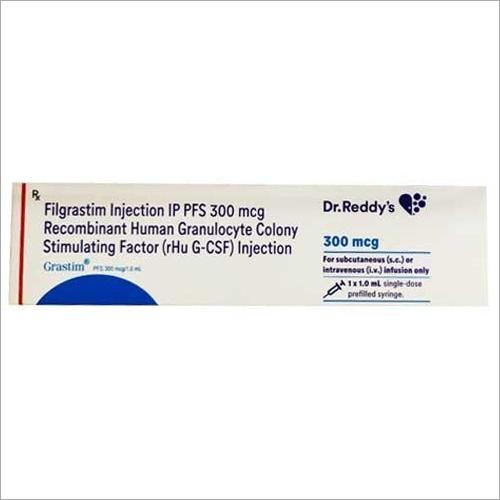 300 Mcg Filgrastim IP PFS Recombinant Human Granulocyte Colony Stimulating Factor rHu G CSF Injection