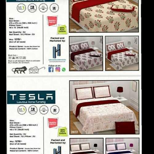 TESLA double bedsheet