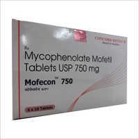 750mg Mycophenolate Mofetil Tablets