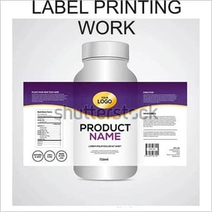 Label Printing Work Services