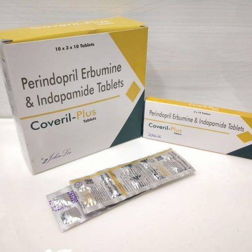 Perindopril Erbumine BP 4 MG + Indapamide IP 1.5 MG