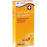 Cod-liver Oil Emulsion syrup