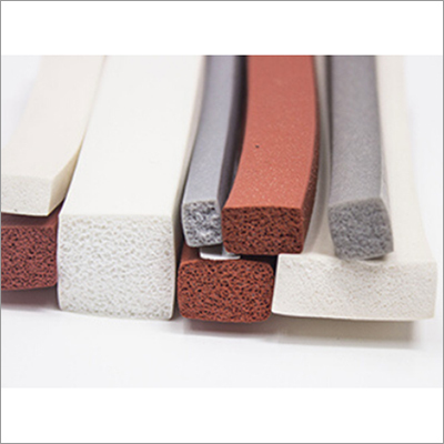 Industrial Silicone Sponge Cord And Strips