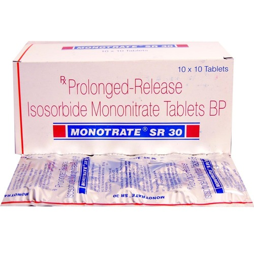 MONOTRATE 30 MG TABLET (ISOSORBIDE MONONITRATE)