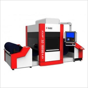 Roll to Roll Flying Fabric Laser Engraving Machine